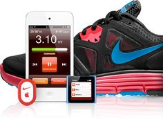 Nike +iPod Sensor - convenient way to track your runs and much more cost-effective than the fancy heart rate monitors/watches