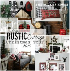 Christmas House Tours The Wicker House