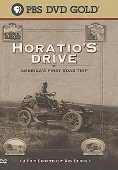 Horatio's Drive: America's First Road Trip (DVD)--In 1903, Americans considered automobiles practical for short trips only. Horatio Nelson Jackson believed differently. He bet a man fifty dollars that he could drive an automobile across the country. Nelson paid a man to accompany him on a trip that attempted to go from California into Oregon and the Rocky Mountain states, then across the Midwestern U.S.A. and finally to New York City. Jackson's trip made him a media sensation.