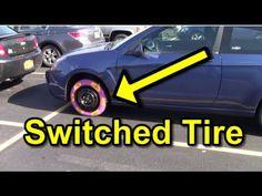 Funny Pranks : Tire Switcheroo Prank - http://positivelifemagazine.com/funny-pranks-tire-switcheroo-prank/