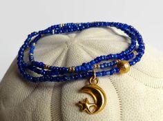 3 semi di perle bracciali sole luna braccialetto di xEsFunThings