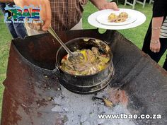 Aveng Trident Steel Potjiekos Cooking team building event in Alberton, facilitated and coordinated by TBAE Team Building and Events Team Building Events, Trident, Steel, Cooking, Ethnic Recipes, Food, Kitchen, Essen, Meals