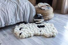 Pom-poms add a  fun and whimsical touch to your decor. These rugs also add beautiful texture and warmth to your space and server as practical decor pieces.
