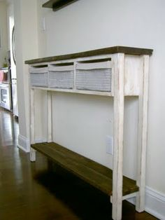 skinny console table. I Looked For A Table Like This Almost Year, And Finally Settled On · Skinny Console L