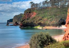 Coryton Cove, Dawlish, Devon, England