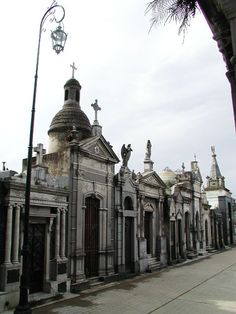 Recoleta Cemetery in Buenos Aires.
