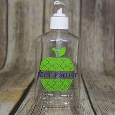 Personalized Teacher Hand Sanitizer
