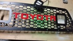 One of many LED lighted grille inserts for your Tacoma. Buy yours at http://puretacoma.com/grilles-c-683/db-customz-20052011-tacoma-grille-insert-for-cube-led-lights-p-5281.html