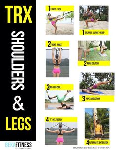 Legs and Shoulders complete workout with TRX!