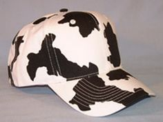 Must have this cow baseball cap to wear to the ole ball game...