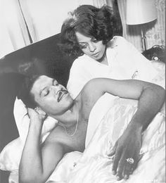 Scene from Diana Ross and Billy Dee in the movie, Lady Sings the Blues - brillant performance.