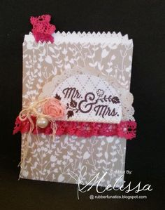 Stampin' Up! For the New Two by Melissa Davies @rubberfunatics @stampinup #rubberfunatics #stampinup