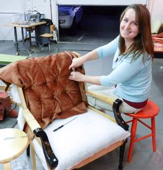 InnasTufting Interview: Furniture Redesign with Shelly Leer