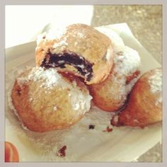 You guys? Guess who had fried Oreos at the Iowa State Fair this weekend? Me. I did.