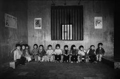 Trẻ em trong một trường mẫu giáo ở nông thôn.1980