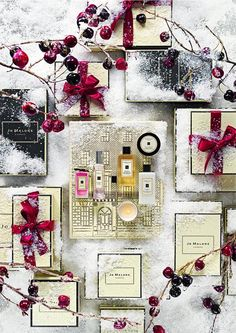 Jo Malone London's limited edition fragrances for Christmas