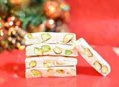 Nougat- A sweet ideal as a Christmas gift