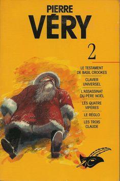 Les Intégrales du Masque - Pierre Véry - Volume 2 - Recto - Janvier 1994