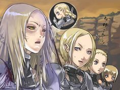 Claymore - Miria, Helen, Deneve, Claire funny pic