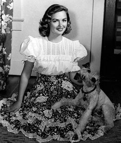 """Donna Reed...in 1987, Grover Asmus (Reed's widower), actresses Shelley Fabares and Norma Connolly, and numerous friends, associates, and family members created the Donna Reed Foundation for the Performing Arts. Based in Reed's hometown of Denison, the non-profit organization grants scholarships for performing arts students, runs an annual festival of performing arts workshops, and operates """"The Donna Reed Center for the Performing Arts"""""""
