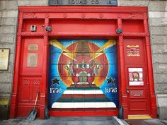 FDNY Firehouse Squad 18, Greenwich Village, New York City  photos by jag9889 shared by  by NYC Firestore
