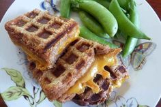 The Waffle Iron Grilled Cheese | 25 Dinners That Are Basically Impossible To Mess Up