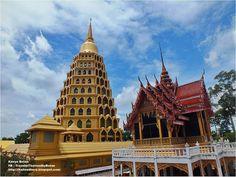 Thailand here ทริปตามใจ ไปตามทาง: วัดท่าอิฐ อ่างทอง Wat Tha-it in Angthong Thailand....