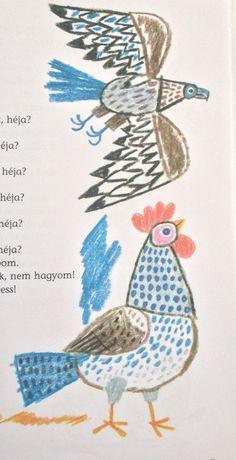 Reich Károly-hungarian illustrator Funky Art, Retro Art, Cartoon Drawings, Art Drawings, Third Grade Art, Cartoon Painting, Arte Popular, Sketchbook Inspiration, Hand Art