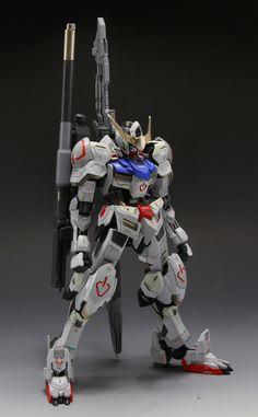GUNDAM GUY: 1/100 Gundam Barbatos - Customized Build