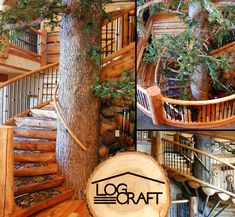 Spiral Staircases for Log Homes   ... with metal balusters spiral stairs staircase styles 0 comments