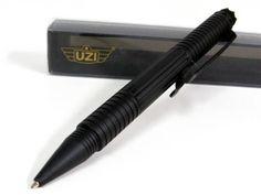 UZI Defender Black Tactical Pen 1 DNA Catching Crown New TACPEN1 BK | eBay