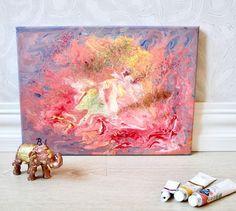 177 отметок «Нравится», 13 комментариев — Varvara&Linda (@artpotion.gallery) в Instagram: «'Fire', acrylics on canvas;) Love the fluid acrylics technique #artpotion #artforsale…»