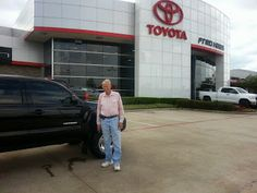 Another happy guest at Fred Haas #Toyota Country! #FredHaas #FredHaasToyotaCountry
