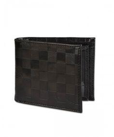 Accessories - Chequerboard Embossed Multiflip Wallet
