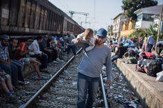Olivier Jobard - Camp en Palestine