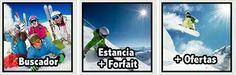 Personaliza tu escapada a la nieve. Hotel+forfait y actividades www.dunatravel.es/reserva-hotel-nieve.php