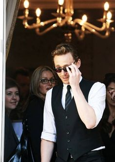 The classiest, move suave picture of Tom Hiddleston I have ever seen. Please excuse me while I go drool.