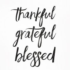 My heart is full of gratitude today!