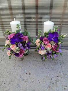 Flowers of Soul: Lumanari de cununie Purple Wedding, Wedding Flowers, Candels, Wedding Ideas, Weddings, Sweet, Plants, Inspiration, Decor