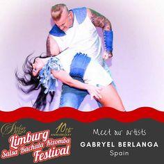 Meet the artists. Get your ticket at: LimburgSalsaFestival.com #10LSBKF #LSF #LSBKF #SalsaBrisa #Maastricht #Alwaysfun #Nonstopdancing #nonstopfun #gabryel