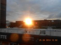 Paris Sun set from Hotel