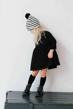 Oversized Dress - Black