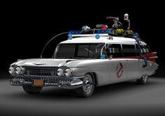 Ecto-1 Ghostbusters 1959 Cadillac Ambulance