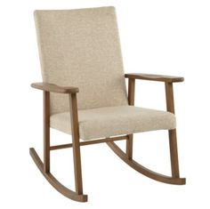 Already have a rocking chair but this is beautiful!! Mid-Century Upholstered Rocker