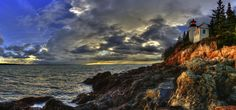 Bass Harbor Head Lighthouse Mega-Panorama by Electrophile on 500px