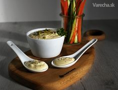 Majonéza a tatarka z vařených vajec - Recept