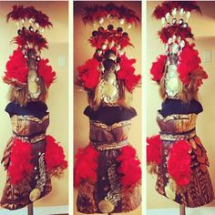 The most BEAUTIFUL tuiga & ofu set love everything about this #proudsamoan
