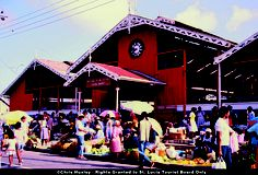 Enjoy the sights, sounds and tastes of Castries Market, the largest (and loudest) market on Saint Lucia.