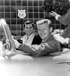 Todd or Buzz? Todd or Buzz? Who to choose for my crush.  Buzz is cuter and sexier, but Todd is more my type.  Route 66 #1 by rwarn17588, via Flickr