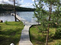 Sidewalk, Cottage, Water, Gripe Water, Side Walkway, Cottages, Walkway, Cabin, Walkways